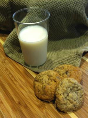 Neiman Marcus cookies and milk