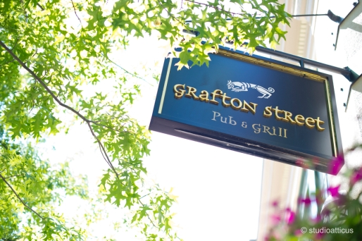 Grafton Street Sign